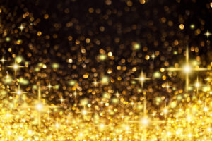 Image of Points of Light as sparkly gold stars