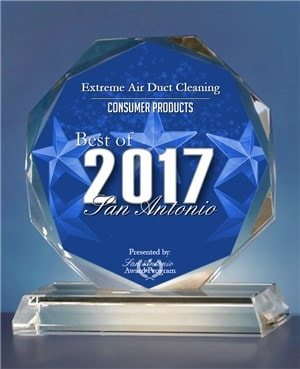 Extreme Air Duct Cleaning San Antonio, Texas2017 Best of San Antonio Award