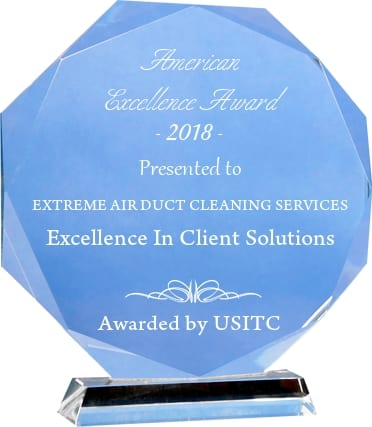 Extreme Air Duct Cleaning Services receives 2018 American Excellence Award