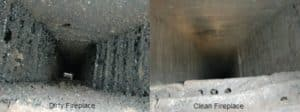 Chimney cleaning sweeping