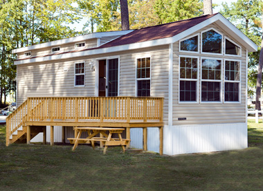Gwynn's Island RV Resort Cottage