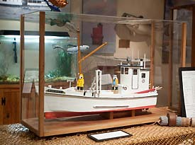 Chesapeake Deadrise model boat