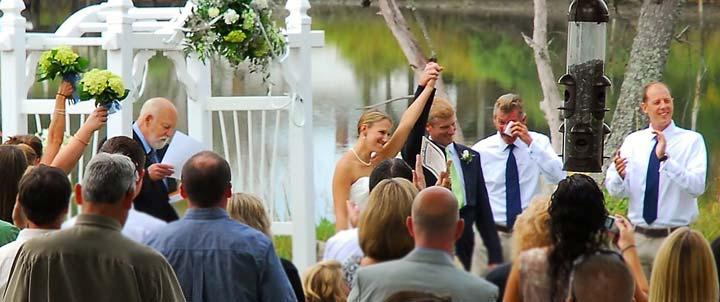 waterfront wedding venue