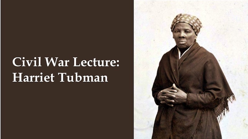 Harriet Tubman lecture