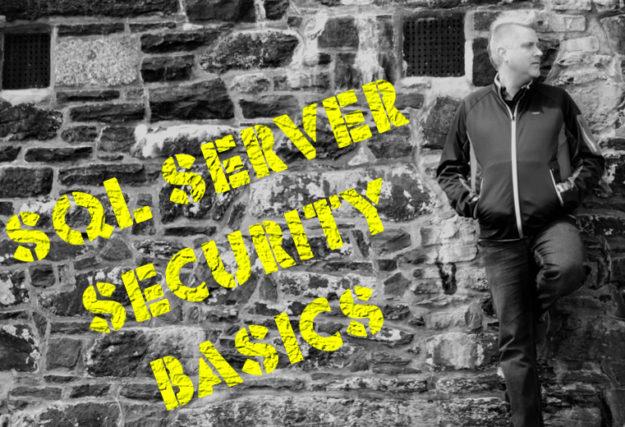 SQL Security Basics