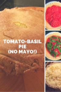 A tomato pie recipe that isn't full of mayonnaise!