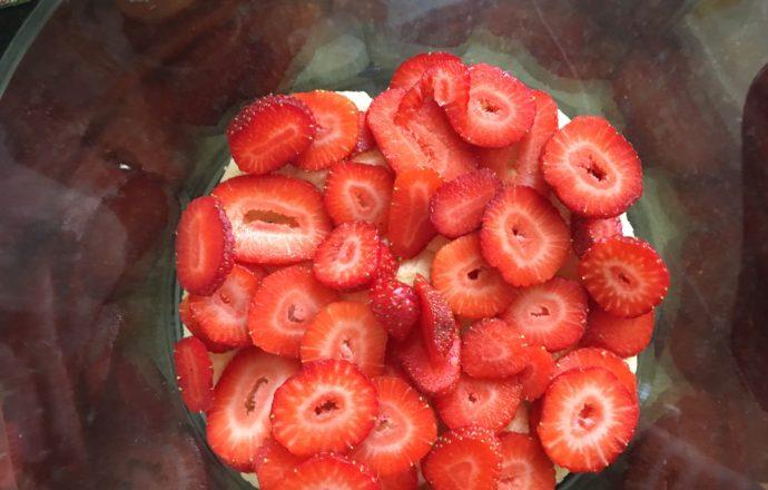 strawberry lemon tiramisu