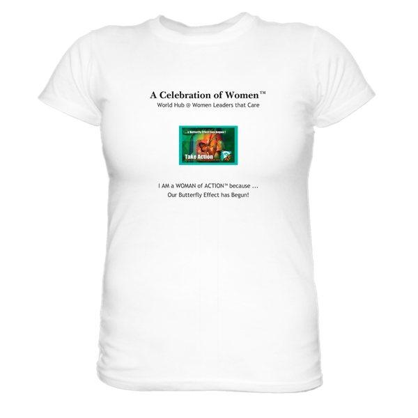 A Celebration of Women tshirt slogan version