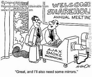 Cartoon - Smoke and Mirrors