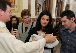 Gabriel Rousseff Covolo baptism
