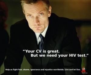 HIV workplace CV