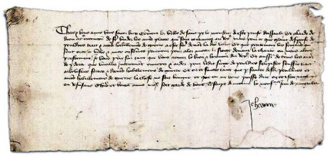 The surviving Letters of Jeanne d'Arc