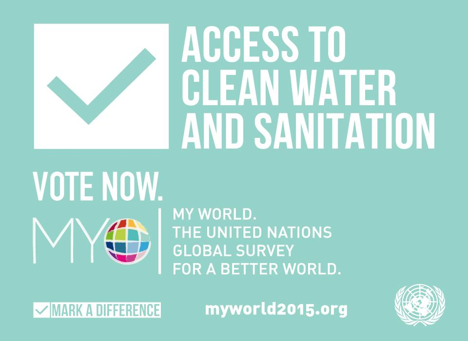 un water vote