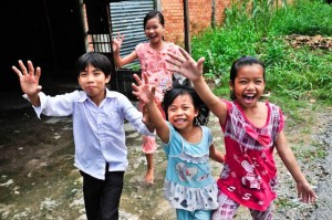 somaly children smiling free