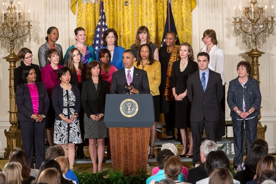 obama may 2013 women and girls