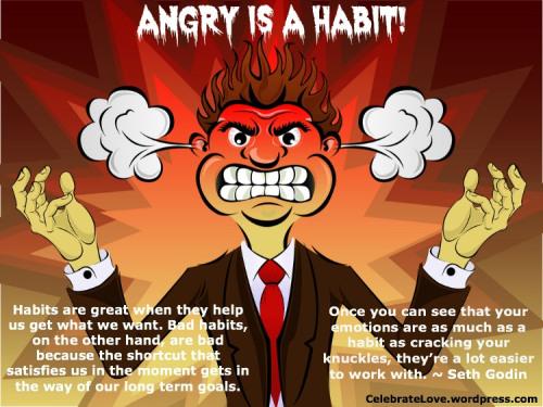 anger larry james