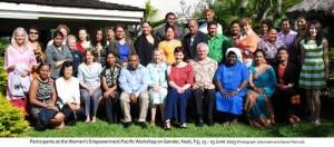 fiji women peace