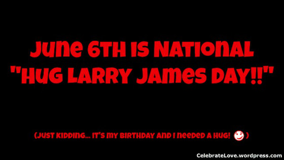 larry james bday