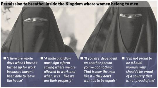 saudi women belong to men