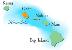 HawaiiMapOahu
