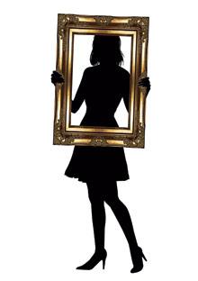 mirror woman in