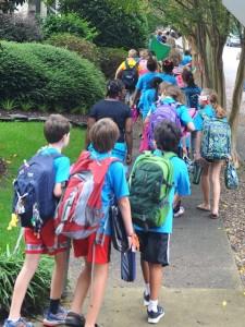 Walk to School Day Photo
