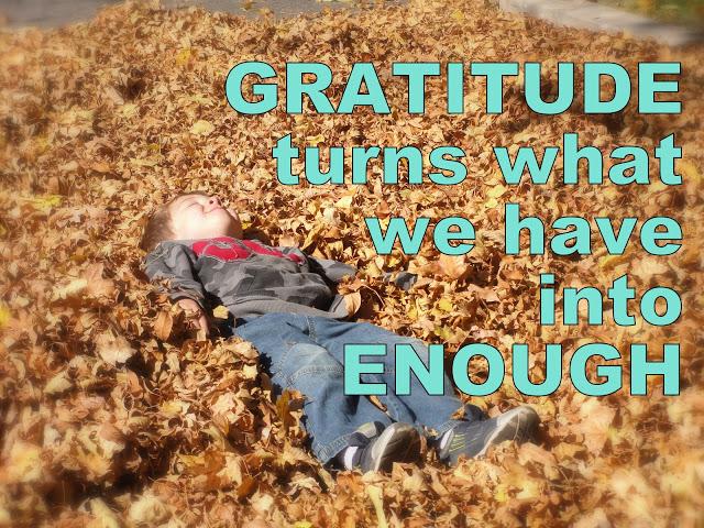 gratitude enough