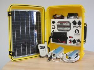 laura solar suitcase