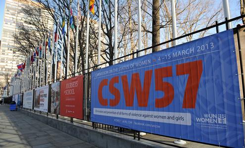 UN Women Executive Director Michelle Bachelet at CSW