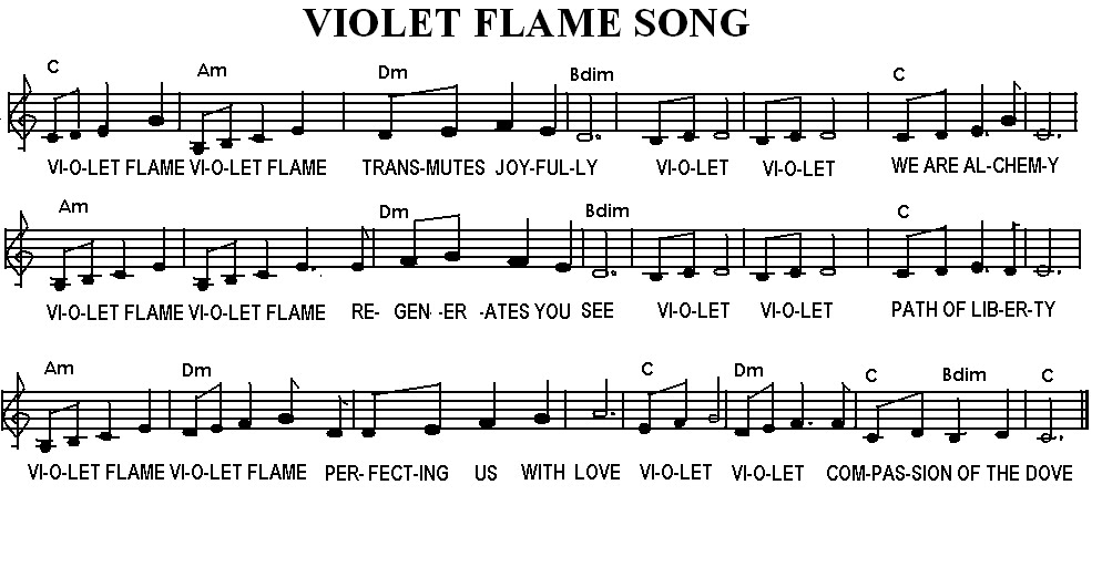 VIOLET FLAME SONG