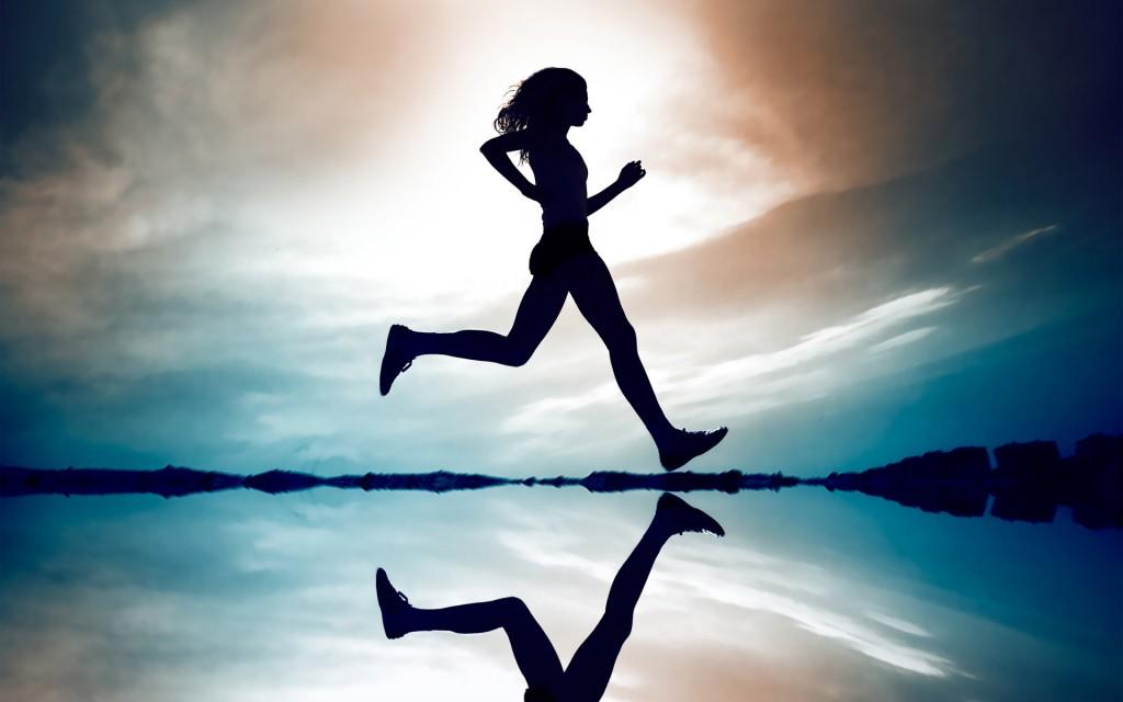Running-Woman-Creative-Wallpaper-1024x640