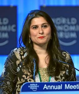 Crystal Award Ceremony: Sharmeen Obaid Chinoy