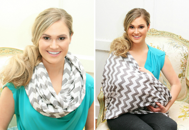 breast feed Infinity-Scarf-Nursing-Cover
