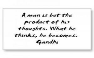 ghandi thoughts