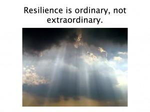 resiliency extraordinary