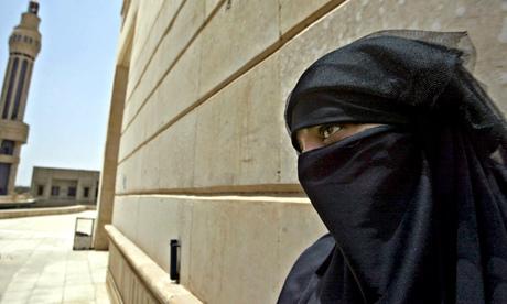 An Iraqi woman in Baghdad