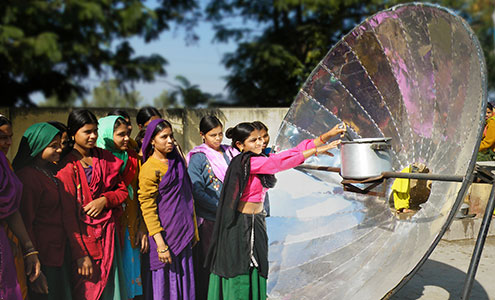 Better use of Solar power