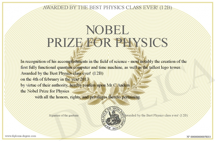 700-5833-Nobel Prize for Physics