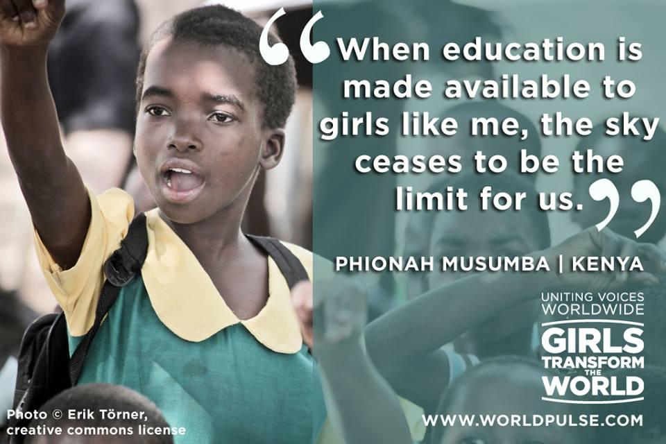 Phionah Musumba girls transform