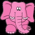 Pink-Elephant-Cartoon-Clipart_1