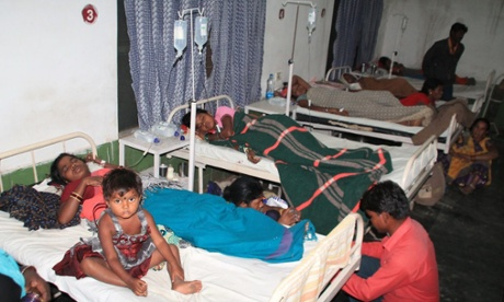 Eight women lose their lives after sterilisation operations in India.