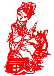 china new year papercut