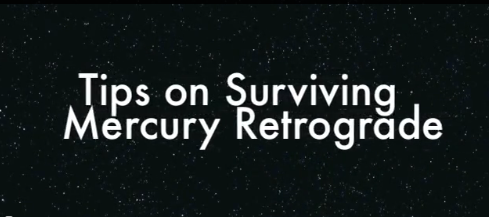 tips mercury retrograde