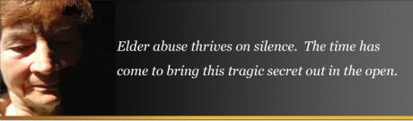 elder abuse silence ending