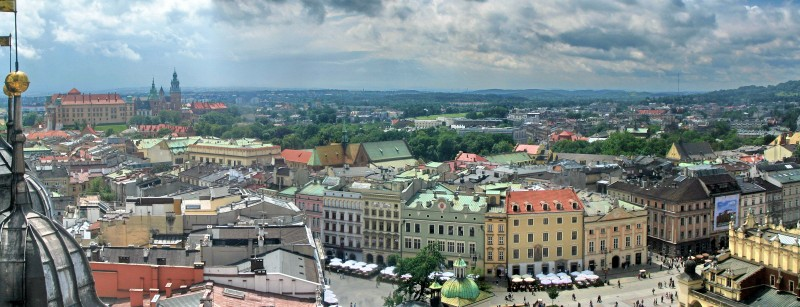 Kraków-from-St.-Marys