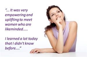 Woman thinking - testimonial GN