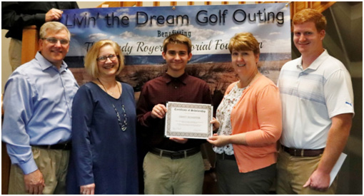 Project Give-Back - Randy Royer Scholarship Recipient 2018