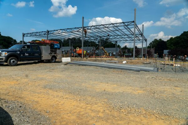 Retail Space being built by Ames