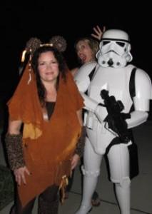 ewok & storm trooper