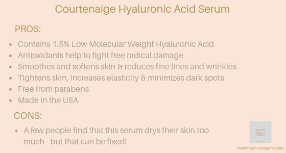 Courtenaige Hyaluronic Acid Serum